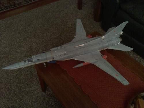 SR-71 BLACKBIRD and TU-26 Bomber