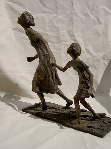 Milliput sculpture , Early war .Heer Infanterie