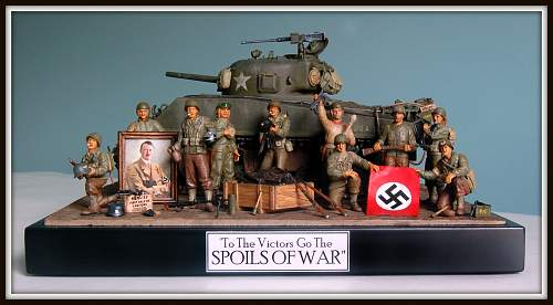 Spoils of War diorama 1/35 scale!
