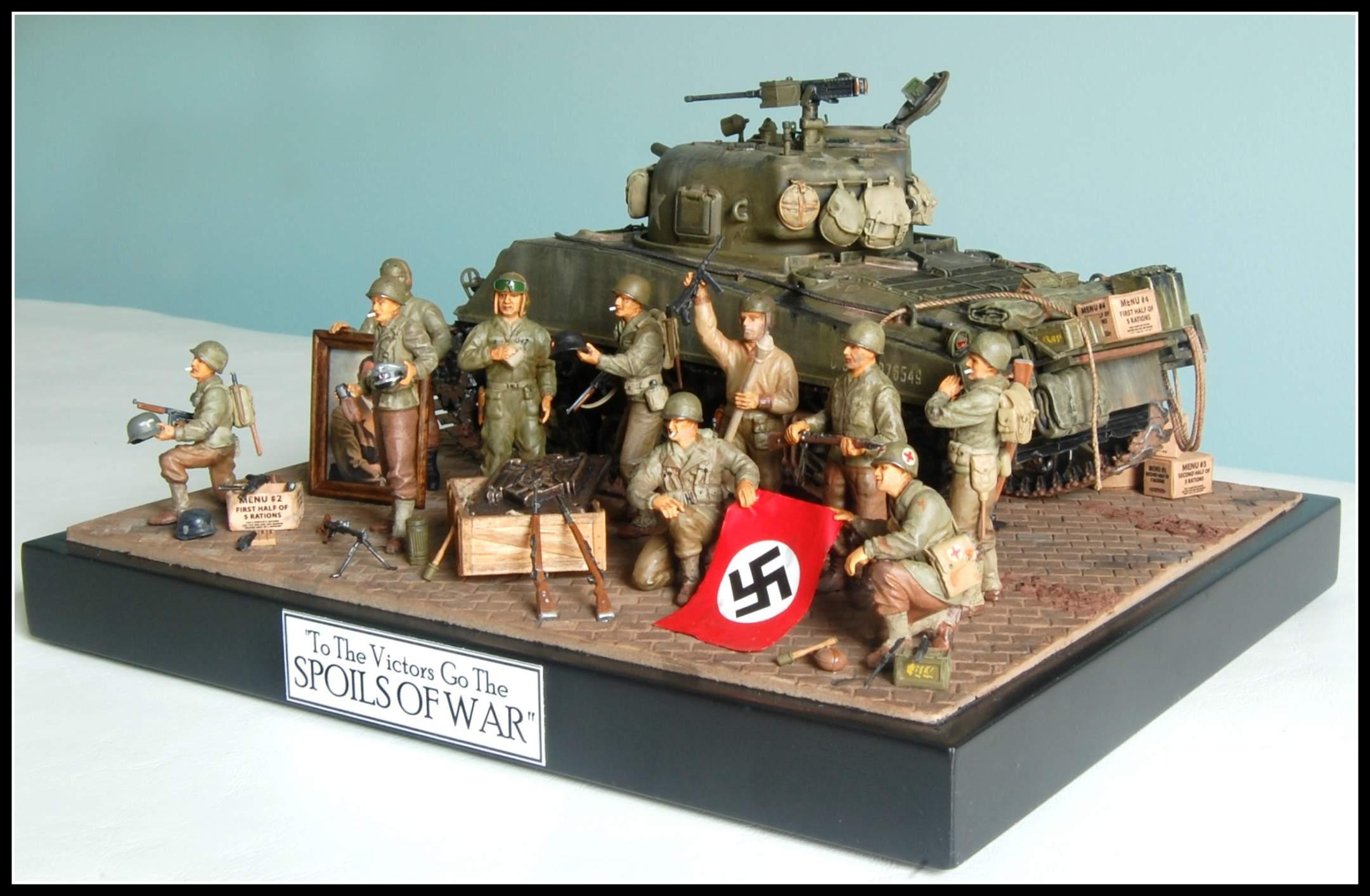 Spoils Of War Diorama 1  35 Scale
