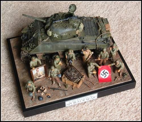 Spoils of War diorama 1/35 scale!