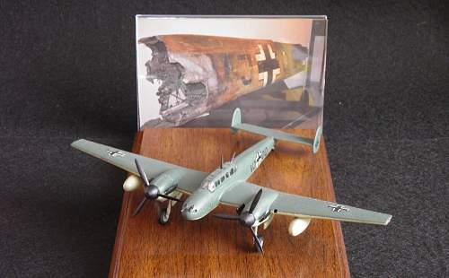 Rudolf Hess' Messerschmitt 110