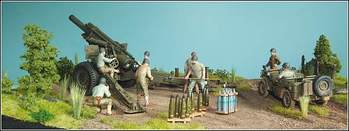 U.S. Army 28th Field Artillery-8th Infantry in the ETO!