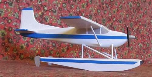 Cessna 185 Float Plane