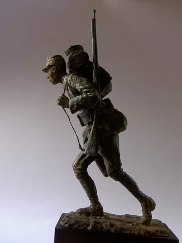 On Les Aura ! Poilu ,1916 .(100mm figure)