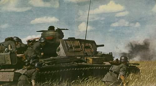 Pic. of german Tank.
