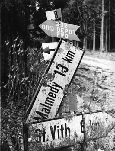 THe Kaiserbaracke crossroads - 18th December 1944