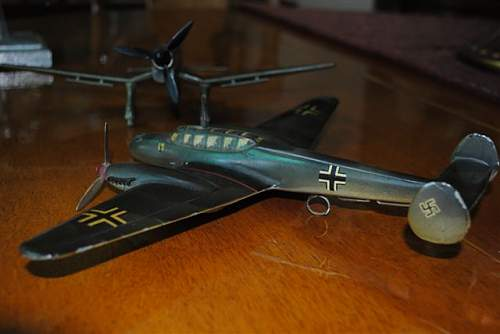 Luftwaffe Squadron Models - ID Requested