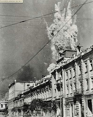 Geography of the USSR. Kiev under the german occupation