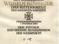 Hitlers Autograph