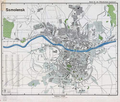 Geography of the USSR. Smolensk under the german occupation