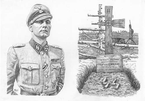 Grave of Christian Frederik von Schalburg
