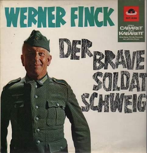 Der brave Soldat Schweigt Post war LP