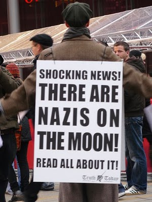 Are there Nazis on the Moon