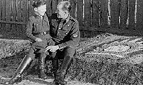 Jewish boy in the Latvian SS unit