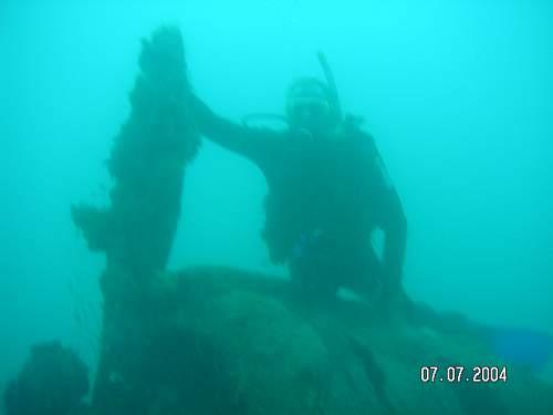 ME 109 wreck dive