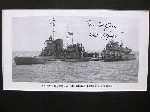 Karl Pfaff  U-234