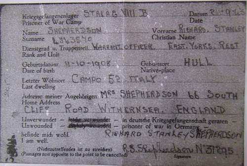 Any online resource for tracking allied POW's during WW2.