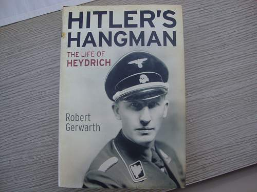 Book- Hitlers Hangman, The Life of Heydrich