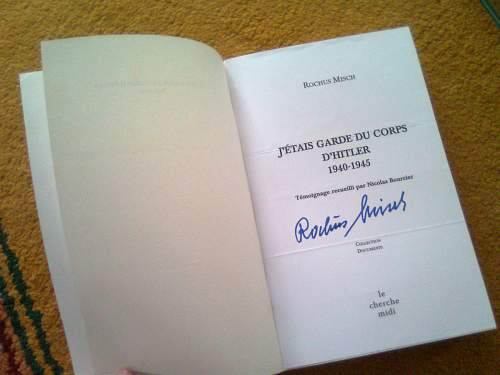 Rochus Misch book in English