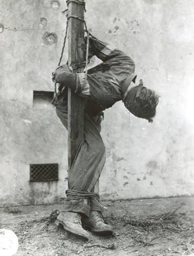 The fate of a german commando
