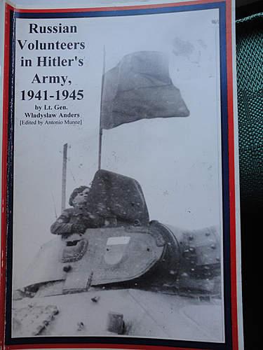 Book: Russian Volunteers in Hitlers Army, 1941.1945