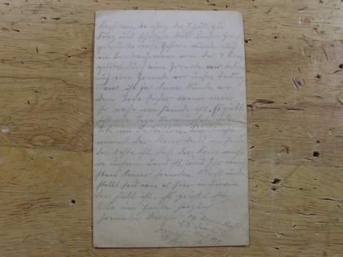 letters from soldier