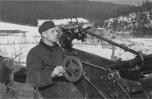 Division in action around Kursk in january 1942