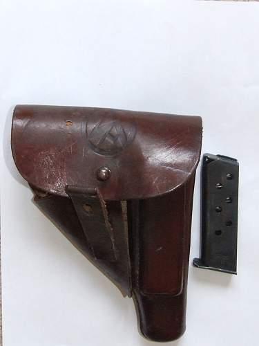 Third Reich gun holster