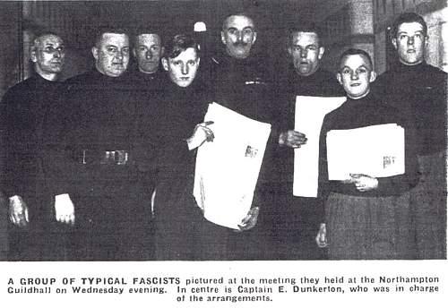 British Union of Fascists