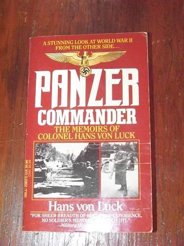 Panzer commander Colonel Hans von Luck
