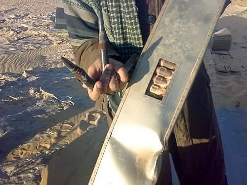 P-40 Kittyhawk discovered in the Sahara desert