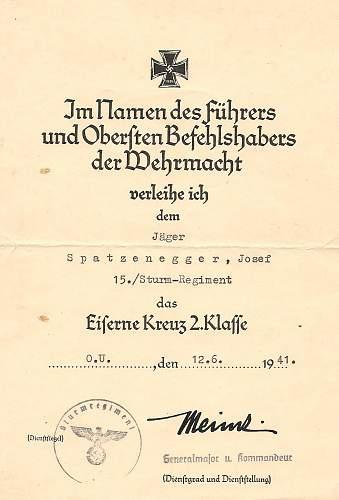 Click image for larger version.  Name:Josef Spatzenegger 15.Sturm-Regiment 001.jpg Views:397 Size:164.3 KB ID:583680