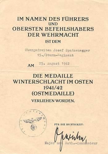 Click image for larger version.  Name:Josef Spatzenegger 15.Sturm-Regiment 003.jpg Views:367 Size:212.1 KB ID:583682