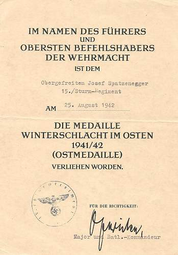 Click image for larger version.  Name:Josef Spatzenegger 15.Sturm-Regiment 003.jpg Views:398 Size:212.1 KB ID:583682