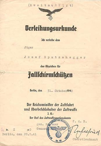 Click image for larger version.  Name:Josef Spatzenegger 15.Sturm-Regiment.jpg Views:130 Size:184.0 KB ID:583686