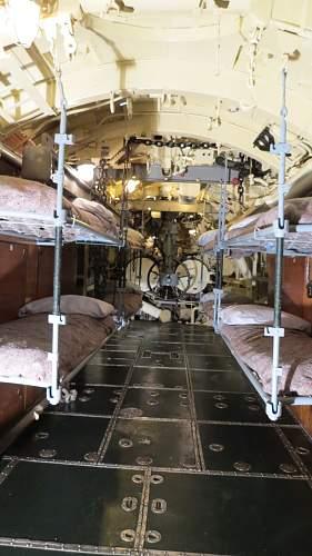 Inside the U 505