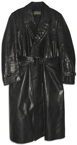 Albert Speer`s Personally Owned Black Leather Jacket ??
