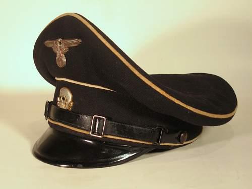 Seeking help researching SS Em/NCO from nametag in visor hat