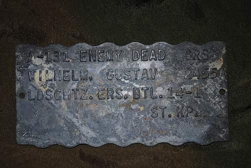 Enemy Dead GRS Tag