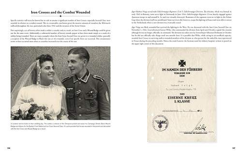 New Book - Iron Cross Award Documents of WW-II