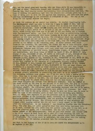 SS Panzer Officers Interrogation report regarding 17th SS Panzer Grenadier Division's last days.