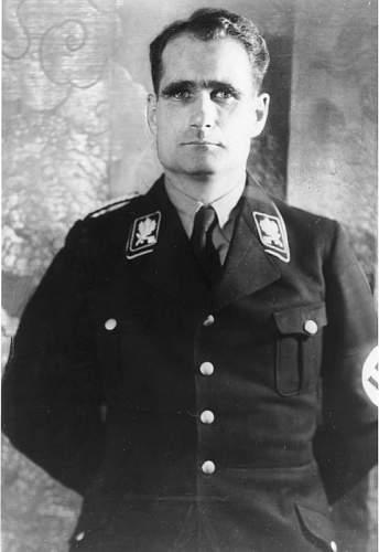 Rudolf Hess's life sentence?