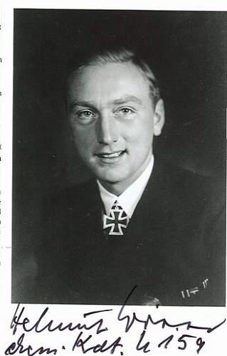 U-509 commander Werner Witte