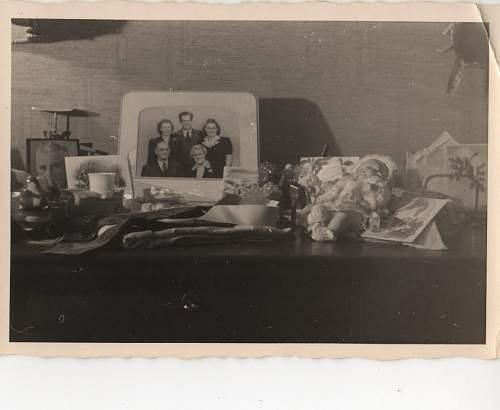 Returning German POW - Family Photos