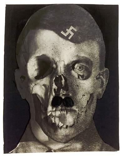 Hitler 1933 - A prophetic artwork by Erwin Blumenfeld