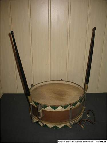 Hitler youth or a early Wehrmacht drum !?