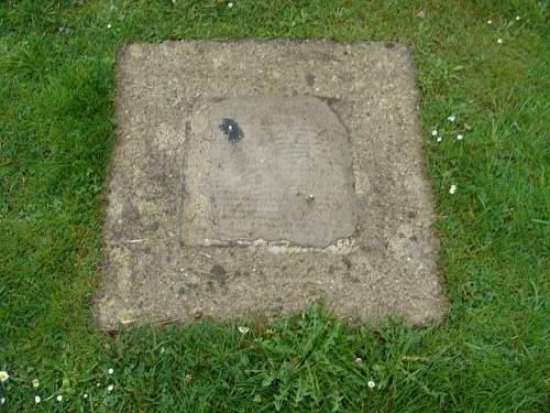 Headstone of Field Marshal Walter Model stolen from Cemetery