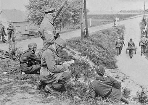 pics of fallschirmjager in holland 1940