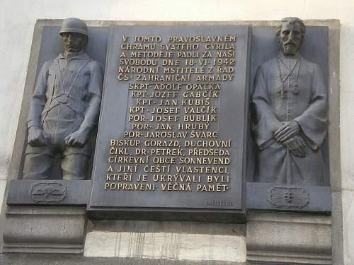 """Heydrich's """"grave."""" ?"""